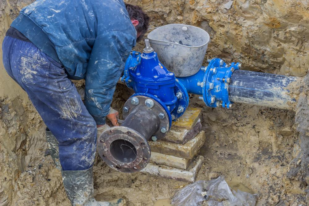 Residential Water Main Repair